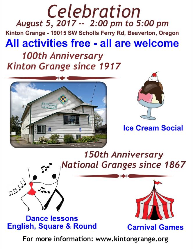 Ice Cream Social Flier