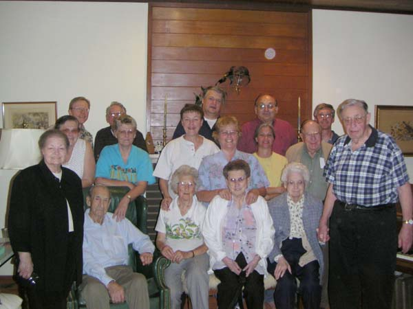 an informal Grange meeting October 5, 2004